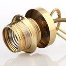 Lampen Abschluß Kaschierung Messing roh 57x11mm mit...