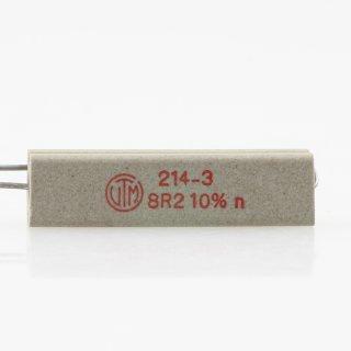 8.2 Ohm 10% 9W radial Zementwiderstand