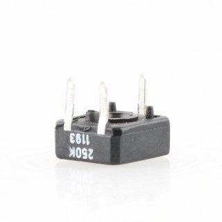 250k Ohm Trimmer Potentiometer liegend 6x10x11mm