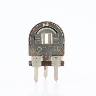 220 Ohm Trimmer Potentiometer stehend 12x9x3mm