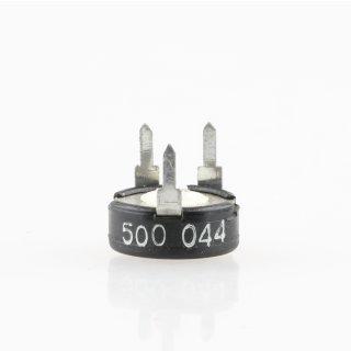 500 Ohm Trimmer Potentiometer liegend 6x10x11mm
