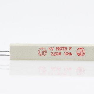 220 Ohm 17W 10% radial Zementwiderstand