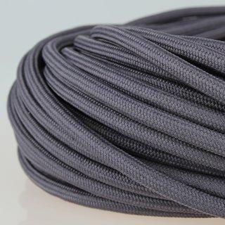 Textilkabel Stoffkabel graphit-grau 3-adrig 3x0,75 Zug-Pendelleitung S03RT-F 3G0,75