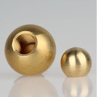 Metall-Kugel Messing roh 14 mm Durchmesser mit M8x1 Sackgewinde