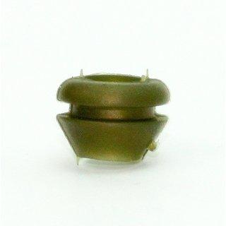 Kabeldurchführungstülle konisch gold 11x8 mm für 8 mm Lochbohrung