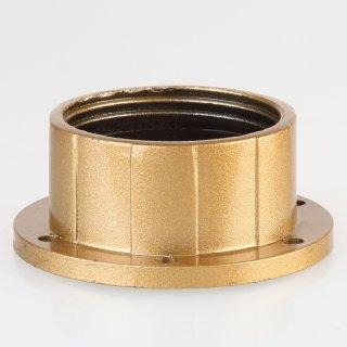 E27 Bakelit Schraubring gold lackiert 58x24 mm