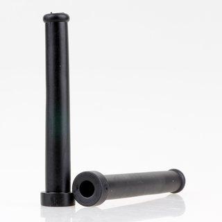 Knickschutz-Tülle Länge 85mm Durchgang 8mm schwarz mit Haltewulst