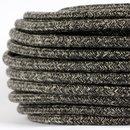 Textilkabel Stoffkabel grau meliert 3-adrig 3x0,75...