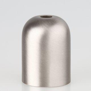 E27 Metall Fassungshülse Zierhülse 43x57 nickel matt edelstahloptik