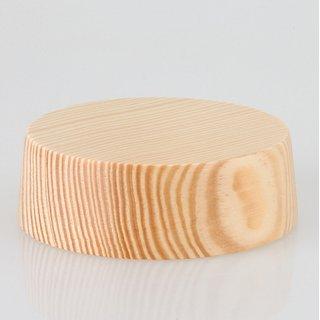 Lampen Baldachin Holz Kiefer 85x28 mm mit Zubehör-Set