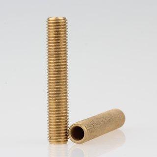 Lampen Gewinderohr Länge 45 mm Messing roh M8x1x45