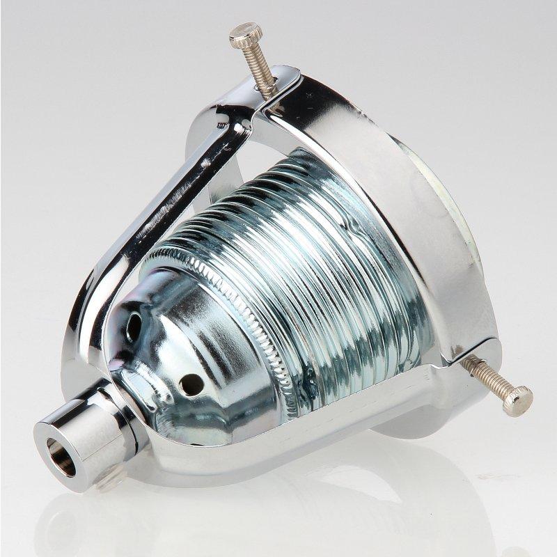lampenschirm lampen glashalter 62x57mm verchromt f r alle e14 un. Black Bedroom Furniture Sets. Home Design Ideas