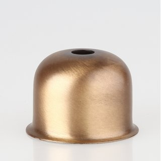 E27 Metall Fassungshülse 48x35 Zierhülse antik fume Emmaaufsatz