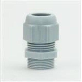 M25 Kabelverschraubung grau iP68 für Kabeldurchmesser 12 bis 18 mm