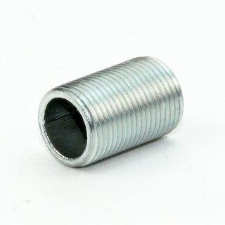 Lampen Gewinderohr Länge 20mm verzinkt M13x1x20