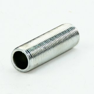 Lampen Gewinderohr Länge 40mm verzinkt M13x1x40