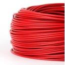 100 Meter PVC Aderleitung 1x1,5 mm² H07V-K rot...
