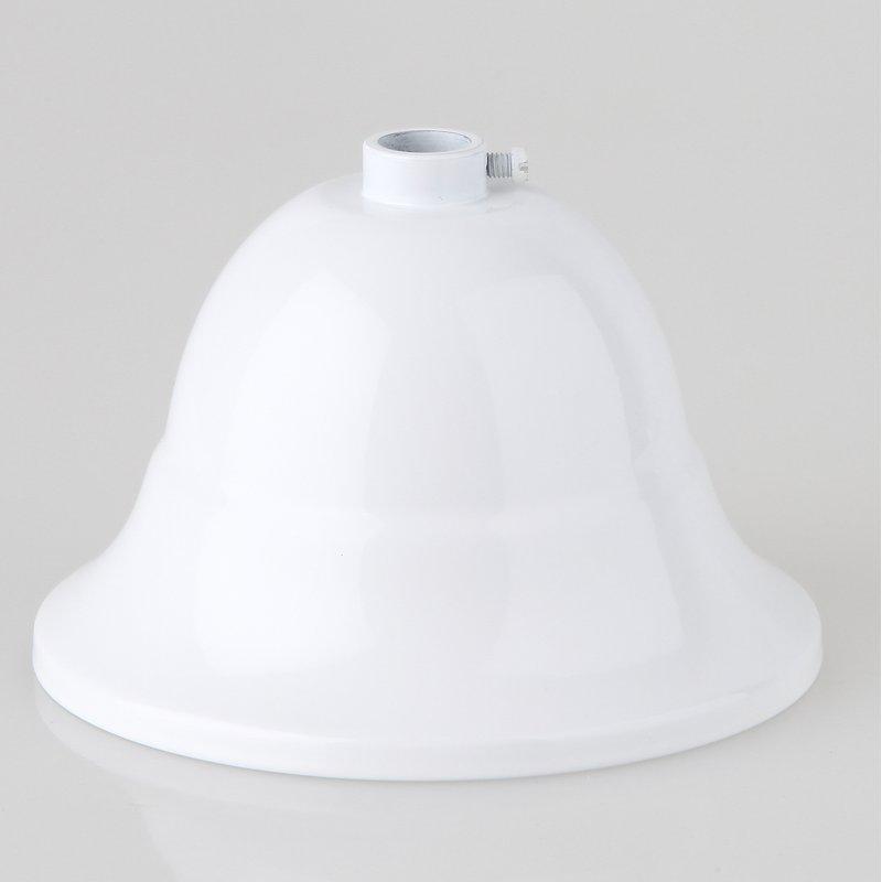 Lampen Baldachin Metall roh 127x54 mm mit Stellring für 10 mm Pendelrohr