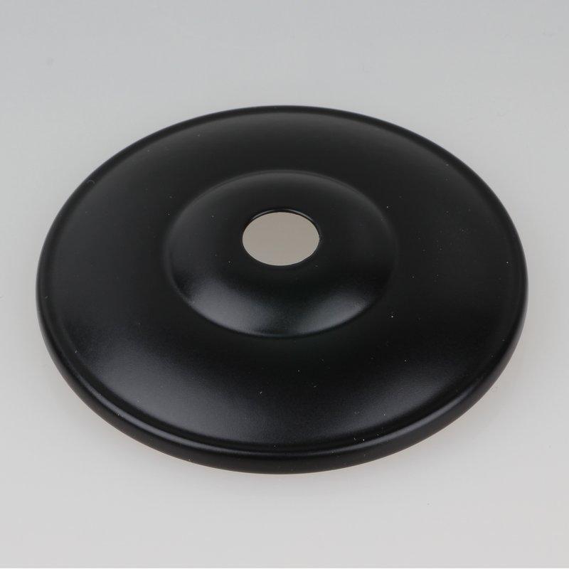 kuppelscheibe abschlu scheibe metall schwarz durchmesser 65 mm 5 95. Black Bedroom Furniture Sets. Home Design Ideas
