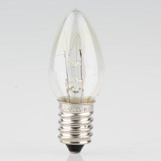 E14 Mini Kerzen Glühlampe 230V/10W klar