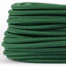 Textilkabel Stoffkabel dunkelgrün 3-adrig 3x0,75...