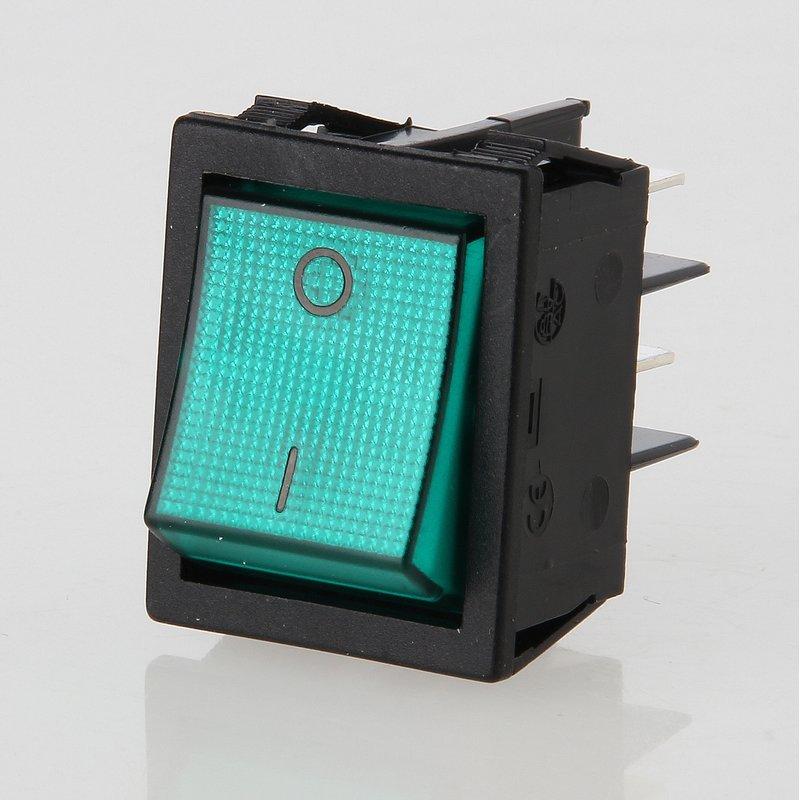 wippschalter gr n beleuchtet online in hamburg kaufen 5 95. Black Bedroom Furniture Sets. Home Design Ideas