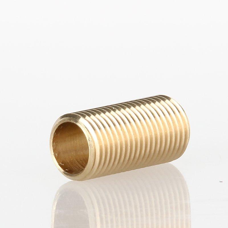 Rohr Gewinde Gewinderohr Nippel Lampe Leuchte Zubehör M10x1 Messing 70mm