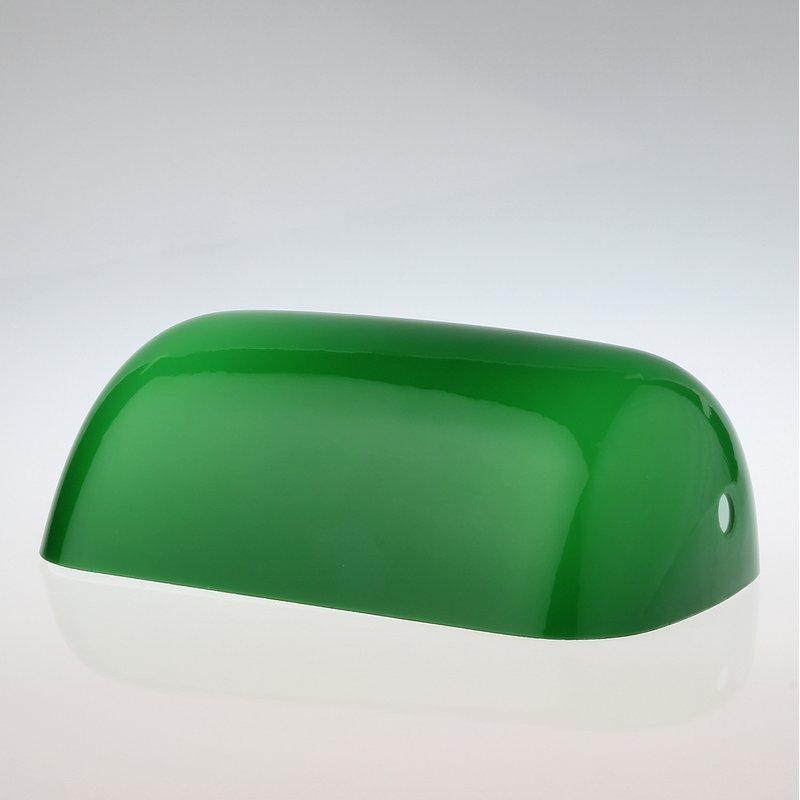 lampen ersatzglas gr n gl nzend f r bankers tischleuchte 28 95. Black Bedroom Furniture Sets. Home Design Ideas