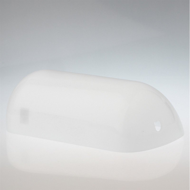 lampen ersatzglas opal gl nzend f r bankers tischleuchte 28 95. Black Bedroom Furniture Sets. Home Design Ideas