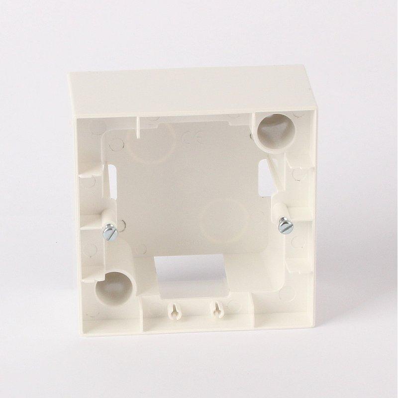 aufputzgeh use f r schalter steckdosen 1 fach reinwei 5. Black Bedroom Furniture Sets. Home Design Ideas