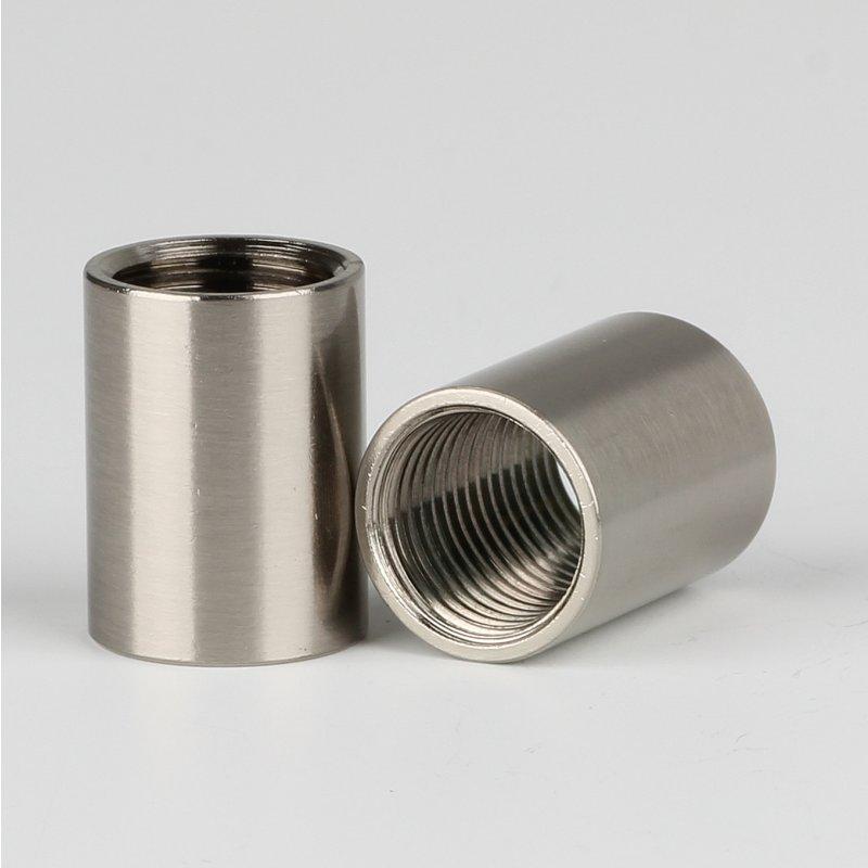 472 silber mit Stellring Lampen Baldachin Metall Baldachin 100 x 30mm schwarz