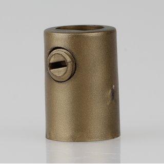 Zugentlaster Kunststoff gold mit M10x1 Innengewinde