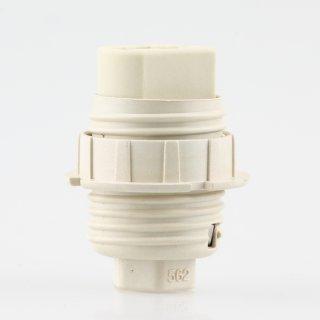 G9 Hochvolt Halogen Lampenfassung 20,8 mm Durchmesser M10 Innengewinde mit Schraubring