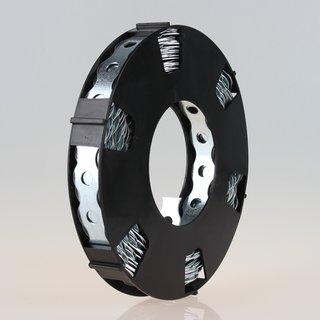 Lochband Montageband Stahl gewellt verzinkt B17mm L10m Loch 6,8mm