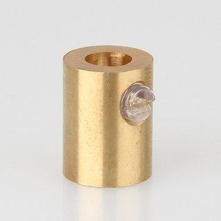 Zugentlaster Metall Messing roh mit M10x1 Innengewinde