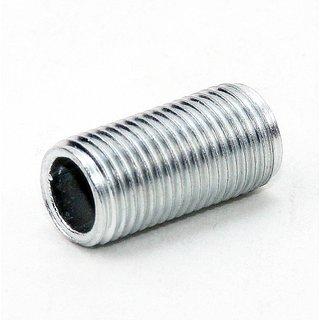 Lampen Gewinderohr Länge 25mm verzinkt M10x1x25