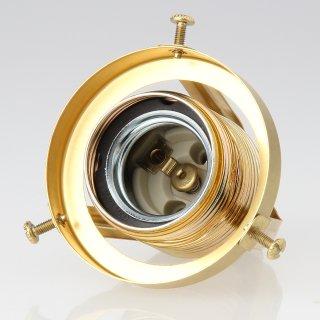 lampenschirm lampen glashalter 62x57mm aus messingblech roh f r. Black Bedroom Furniture Sets. Home Design Ideas