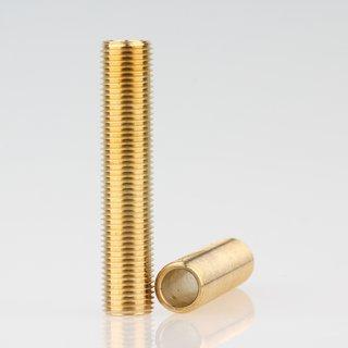 Lampen Gewinderohr Länge 50mm Messing roh M10x1x50