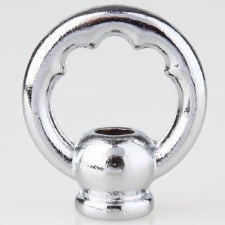 Zahnringnippel verchromt M10x1 Innengewinde Durchmesser 42mm rund