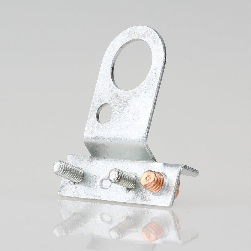 Lampen-Kabelaufhänger Metall verzinkt Kabel Zugentlaster für 10er Rohr mit FE Sc