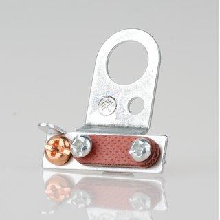 Lampen-Kabelaufhänger Metall verzinkt Kabel Zugentlaster für 10er Rohr mit VUFI Schelle