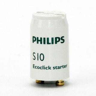 Philips S10 Ecoklick Starter für Leuchtstofflampen 4-65W 220-240V mit Einzelschaltung