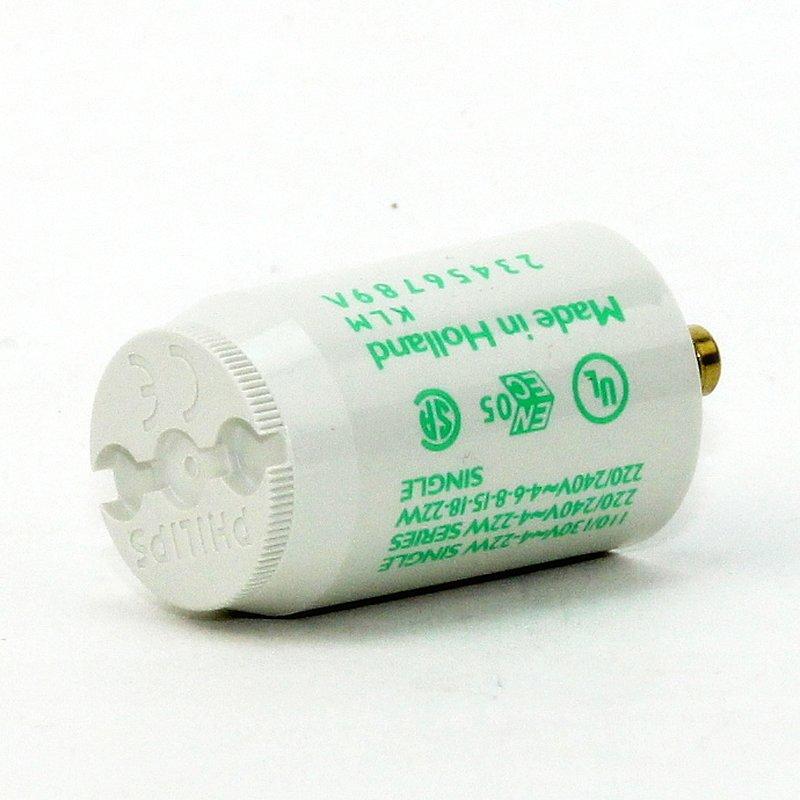 philips s2 ecoclick starter f r leuchtstofflampen 4 22w 220 240v. Black Bedroom Furniture Sets. Home Design Ideas