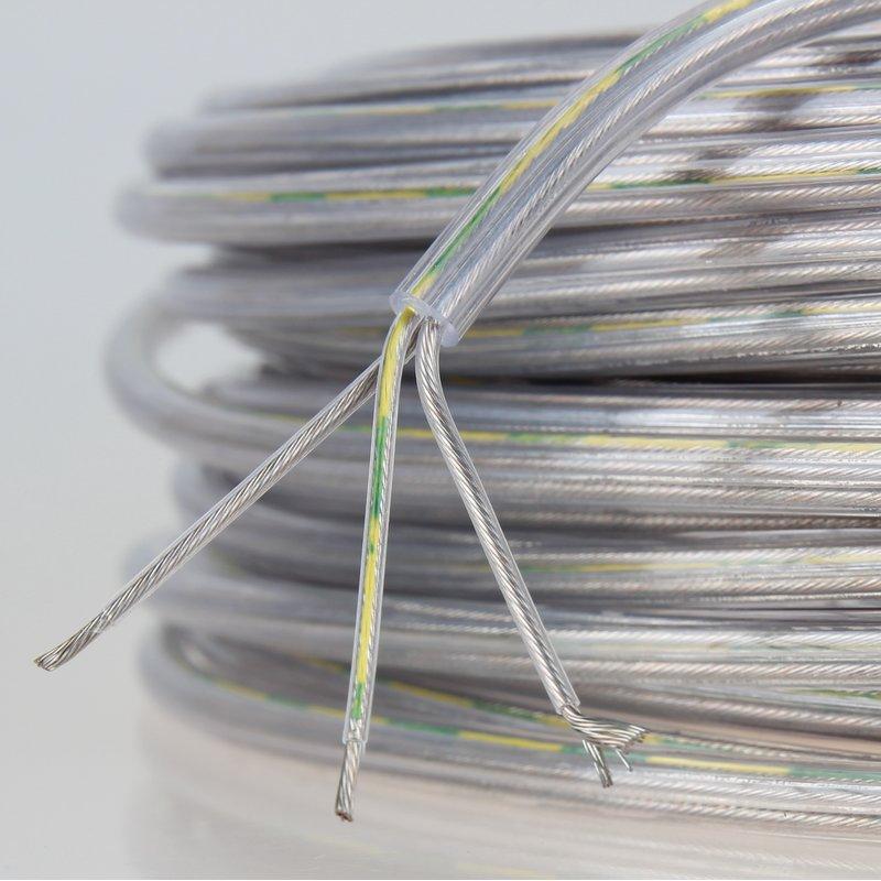 Leitungen PVC 7x0,25mm2 TRONIC-CY LiY-CY abgeschirmt  grau 20033 Mehraderleitung