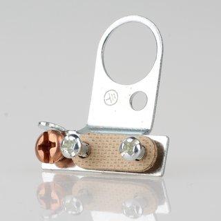 Lampen-Kabelaufhänger Metall verzinkt Kabel Zugentlaster für 13er Rohr mit VUFI Schelle