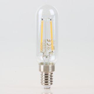 Sigor E14 LED Filament Röhrenlampe T25 klar 2,5W = (25W) 250lm warmweiß