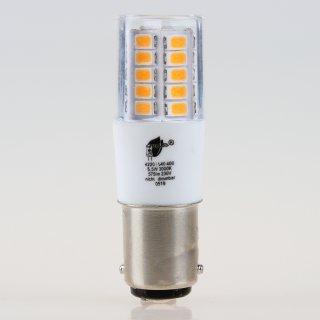 B15d LED Leuchtmittel Lampe 5.5W 3000K 575lm warmweiß GreenLED