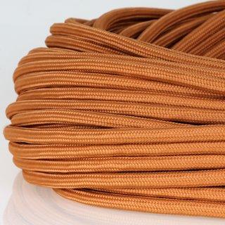 Textilkabel Stoffkabel englisch gold 3-adrig 3x0,75 Zug-Pendelleitung S03RT-F 3G0,75