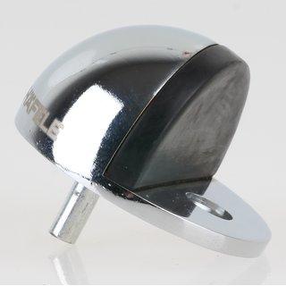 Häfele Türstopper Bodentürstopper Messing verchromt 47x27mm zum Schrauben