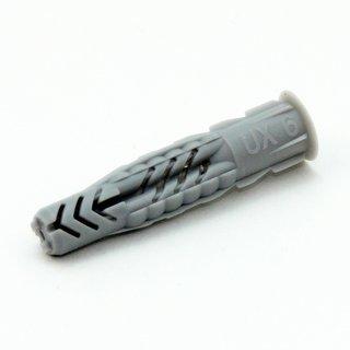 6x35mm Fischer Universal-Dübel mit Kragen für 4-5 mm Schrauben